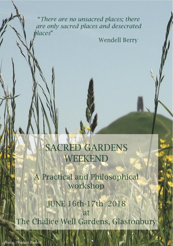 Sacred gardens leaflet